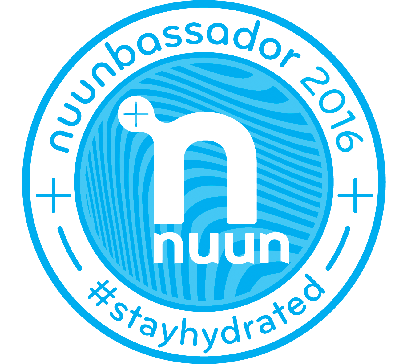 Nuunbassador Badge
